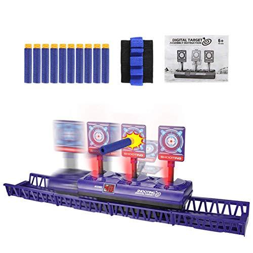 Objetivo Digital eléctrico para Juguetes de Pistolas Nerf, puntuación de reinicio automático...