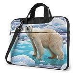 Polar Bear Ice Maletín para portátil Bolso Bandolera Mesenger