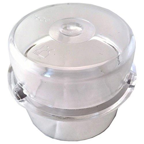 daniplus Messbecher 100ml, Becher für die Deckelöffnung passend für Thermomix TM21, TM31, TM3300
