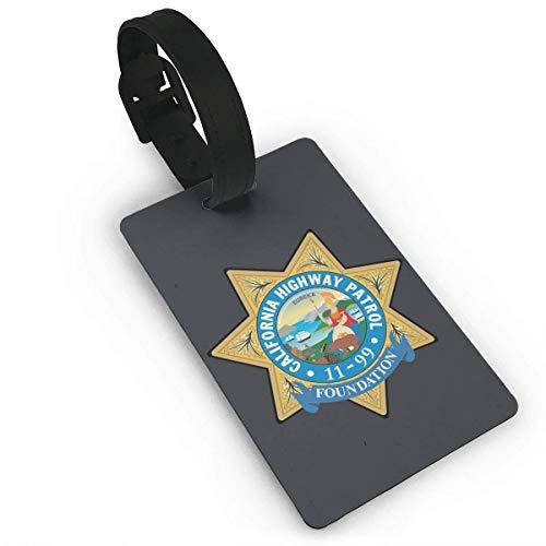 shenguang CHP Badge California Highway Patrol Luggage Bag Tags Travel Tags Travel ID Tag