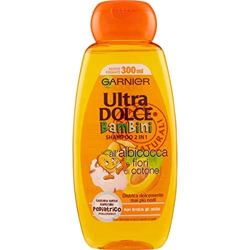 Garnier Shampoo 2 in 1 Ultra Morbido Bambini, 300 ml (Confezione da 1)