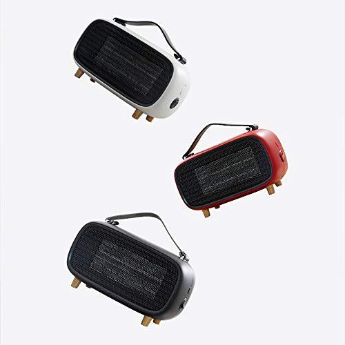 Faus Koco Mini Térmica De Alta Velocidad Creativo De Escritorio De Oficina Pequeño Calentador Portátil Inicio De Regalos Calefacción (Color : Red)
