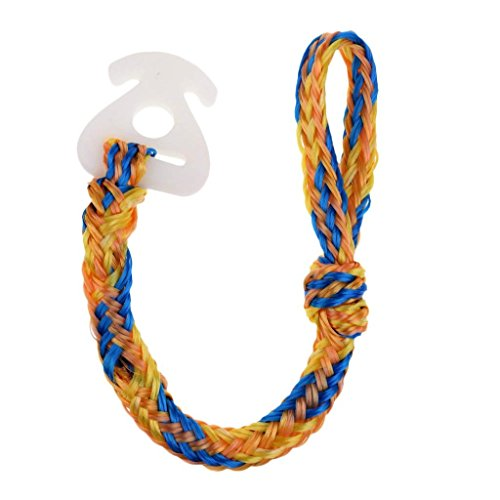 Tow Rope Connector for Tubing, 50 cm Blue Orange