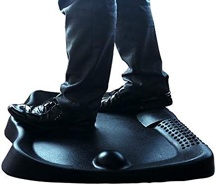 Art3d スタンディングデスク 疲労防止マット フラットコンフォートマット フットマッサージ付き スタンディングワークステーション用 26.7 x 23インチ ブラック