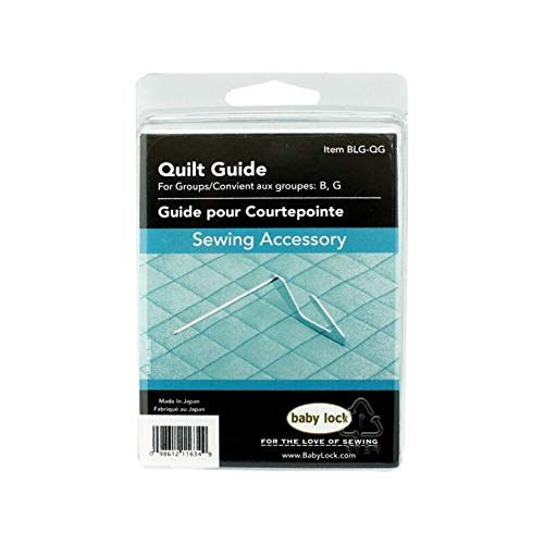 Super Sewing Supplies for Quilting Guide #BLG-QG for Baby Lock Sewing Machine