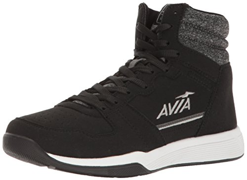 Avia Womens ALC-Diva High Sneakers Shoes Casual - Black - Size 6 B