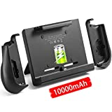 10000mAh Battery Charger Case for Nintendo Switch, YOBWIN Portable Backup Charger Station Console with a Pair...