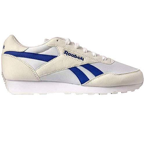 Reebok Rewind Run, Zapatillas de Running Unisex Adulto, Blanco/COUBLU/TRGRY1, 44 EU