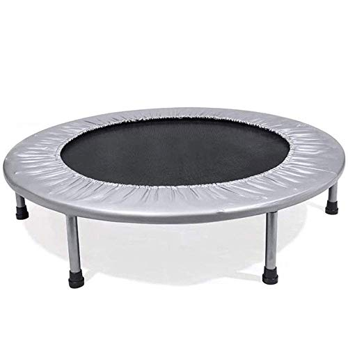 KaiKai Mini Fitness Trampoline for Adults and Kids, Max Load 330lbs Rebounder Trampoline for Indoor Garden Workout Cardio Training