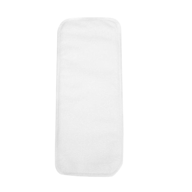 帽子韓国語咽頭SUPVOX 布おむつインサートライナー洗える再利用可能な竹炭おむつライナーアンダーパッド(ベージュ)
