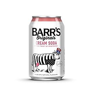Barr's Originals Cream Soda with a Twist of Raspberry Cans, 330ml - Pack of 24 (B0048F0AKI) | Amazon price tracker / tracking, Amazon price history charts, Amazon price watches, Amazon price drop alerts