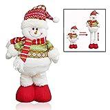 Xrten Muñecos de Navidad de pie Extensible decoración de Navidad, Regalo para niños
