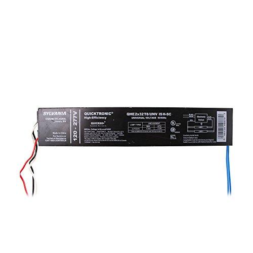Sylvania QHE2X32T8/UNV ISH-SC Fluorescent Ballast, FO32T8 2 Lamp 32W T8 120/277V