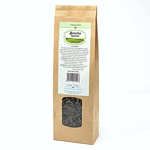 Herbo Veneta, 2610 Tè Bancha Special, Tè Verde - 100 Grammo