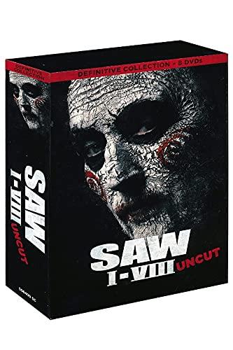Saw Box Teil 1, 2, 3, 4, 5, 6, 7, 8 - Definitive Collection 8 DVD Gesamtbox