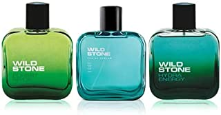 Wild Stone Edge, Hydra Energy and Forest Spice Perfume for men,50 ml each(Pack of 3)