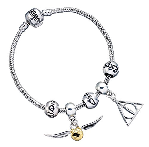 The Carat Shop Charm-Armband, Harry Potter, versilbert