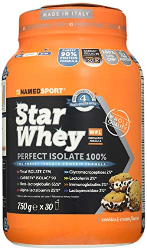 Named Sport Star Whey Isolate Cookies & Cream - 750 Gr