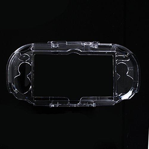 C-FUNN Claro Cristal De Piel Dura Caso Cubierta Protector De Shell para Sony PS Vita PSP PSV 1000 Videoconsola De Videojuegos