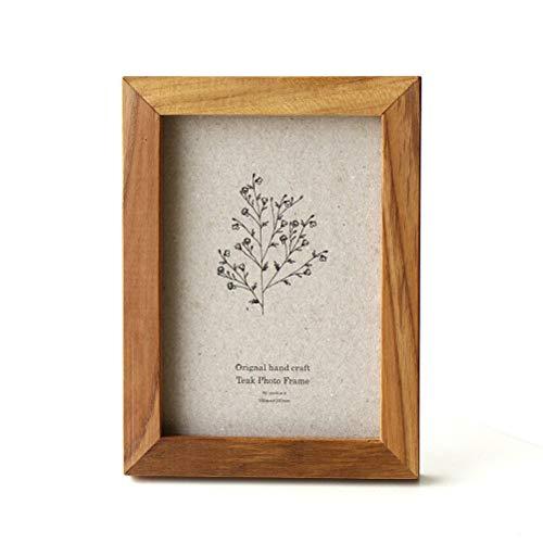 フォトフレーム 写真立て 木製 チーク材 おしゃれ ポストカード ハガキサイズ チークウッドフレーム ポストカード [ify5856]