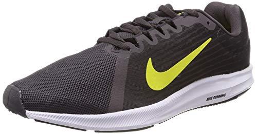 Nike Downshifter 8, Zapatillas de Entrenamiento para Hombre, Gris (Thunder Grey/Dynamic Yellow-Oil Grey 010), 44 EU