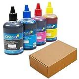 CISinks Refill Ink Bottle Set – 13.5oz/400ml Compatible for Brother LC203 MFC J4320DW J4420DW J4620DW J5520DW J5620DW J5720DW J460DW J480DW J485DW J680DW J880DW J885DW J4625DW J5320DW