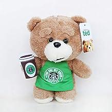 Juguete de Peluche 8 `` 20 Cm Película Teddy Bear Ted 2 Peluches En Delantal Oso De Peluche Camarero Cosplay Peluche Suave Peluches Juguetes Muñeca