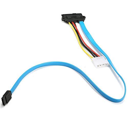 Exquisitamente diseñado durable nuevo SAS serial conectado SCSI SFF-8482 a SATA HDD disco duro adaptador cable