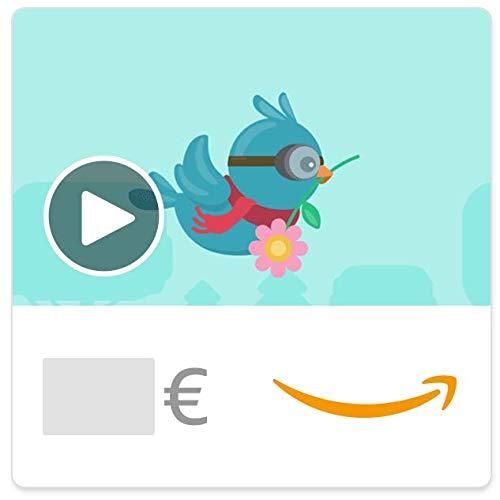 Cheques Regalo de Amazon.es - E-mail - Feliz Día Mamá - Nido de pájaro (animación)
