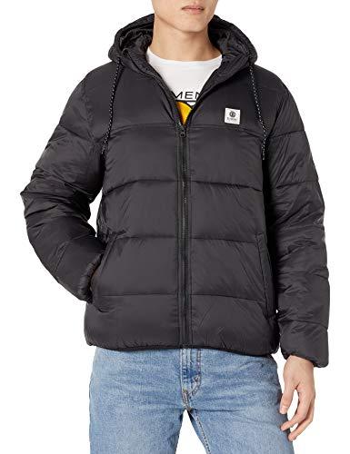 Element Men's Alder Avalanche Jacket, Flint Black, L