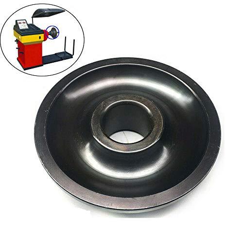 DOMINTY Nr.4 Konus Zentrierkonus, Welle Ø 36 mm Konensatz für Wuchtmaschine der meisten Auto Pkw und Kleinlaster Reifen Montage 94-137mm für Felgen Räder aus Aluminium, Stahl oder Leichtmetall