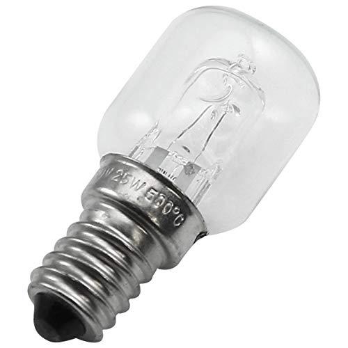 Cikuso E14 Hoch Temperatur Glühlampe 500 Grad 25W Halogen Glocken Birnen Glühlampe E14 250V 25W Quarz Glühlampe