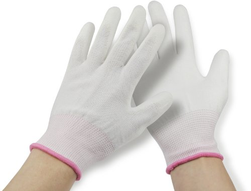 Meyco Nylon-Handschuhe PU beschichtet Größe S, 1Paar