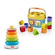 Fisher-Price Rock-a-stack and Baby's First Blocks Bundle [Amazon Exclusive]