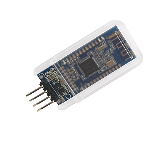 DSD TECH HM-10 Bluetooth 4.0 BLE iBeacon UART Modul mit 4 PIN Base Board für Arduino UNO R3 Mega 2560 Nano