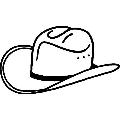 Azeeda A8 'Cowboy-Hut' Stempel (Unmontiert) (RS00029180)