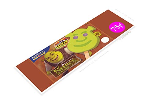 PosterGlobe Poster B448 Shrek Cartoon Popsicle Retro Ice Cream Truck Sign Parlor Kitchen Cottage 6' x 18'