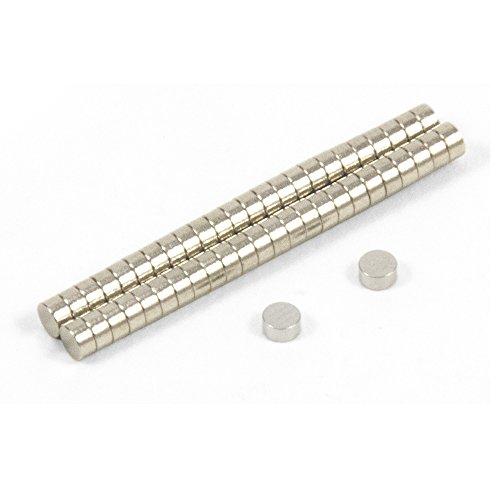 Magnet Expert 3 mm de diamètre x 1.5 mm d'épaisseur N35 Aimant Néodyme - 0.18 kg Pull (paquet de 50)