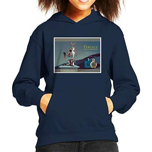 Cloud City 7 Fersace Parfum Advert Parodie Sweatshirt met capuchon voor kinderen