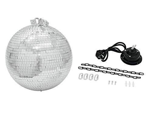 Eurolite Mirror Ball Disco-Kugel, 40cm, 230V, 50Hz, 400x400mm, 4kg