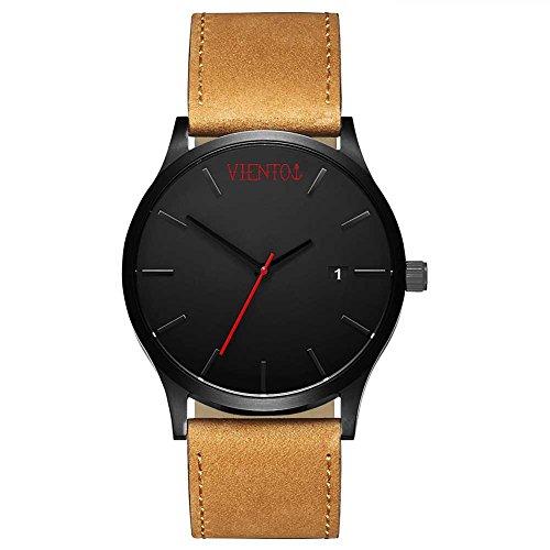 VIENTO Elegant Uhr (Braun)