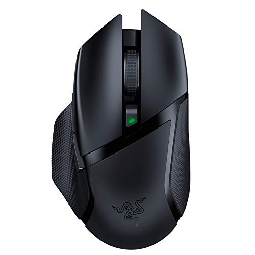 Razer Basilisk X HyperSpeed Wireless Gaming Mouse: Bluetooth & Wireless Compatible - 16K DPI Optical Sensor - 6 Programmable Buttons - 450 Hr Battery...