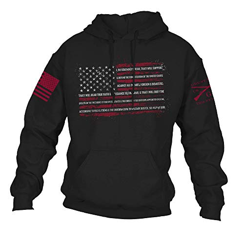 Grunt Style The Oath Hoodie (Black, Large)