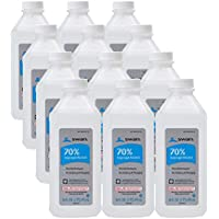 12-Pack Swan 70% Isopropyl Alcohol First Aid Antiseptic 16 Fl Oz