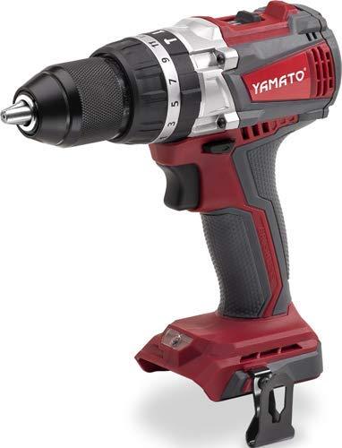 YAMATO 7200335 Taladro Percutor, Atornillador, 20,0 Voltios, 2 Velocidades, Sin Bateria Sistema Brushless (Sin escobillas)