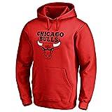 MFsports Chicago Bulls Kapuzen Sweatshirt, Jugend Männer Kapuzenpullover beiläufige Sportkleidung Hoodies, Herren Basketball Trainingsanzug