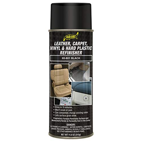 Leather, Carpet, Vinyl & Hard Plastic Refinisher - Black [65-801]