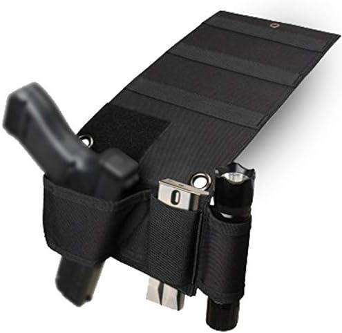 SHURUN Car Seat Pistol Gun Holster Bed Mattress Gun Holder Adjustable Under Mattress Bedside product image
