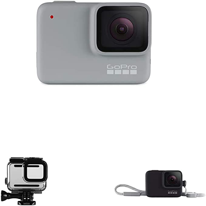 Gopro White Wasserdichte Digitale Actionkamera Mit Kamera