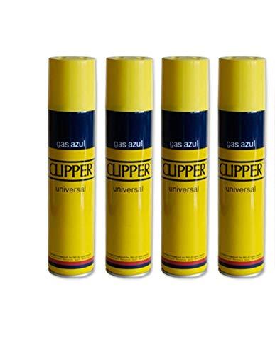 4 botellas Gas Clipper 250 ml. cada una